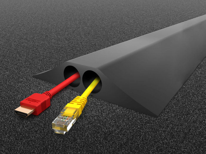 CablePro HD2 on Carpet