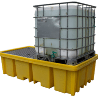 Double IBC Bund Pallet With Four Way Access