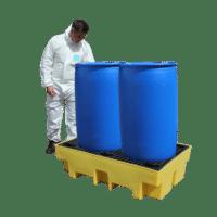 Drum Spill Pallet For 2 x 205Ltr Drums