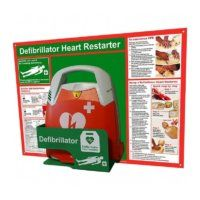 Defibrillator AED Wall Mounted