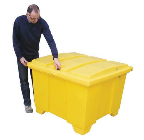 600 Litre Plastic External Storage Container - With Wheels