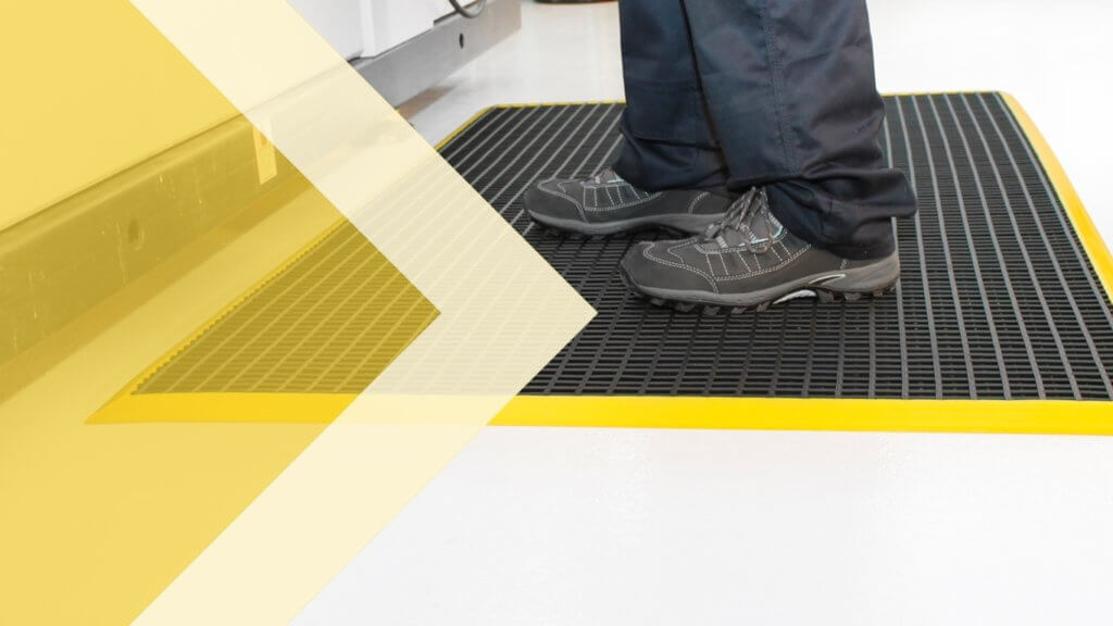 slip reduction mats available from Safe Industrial