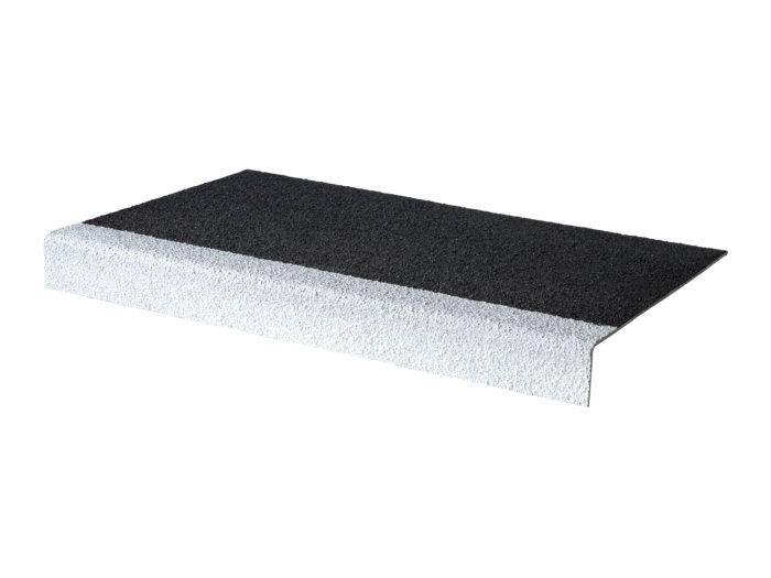 Black/White GRP Stair Tread