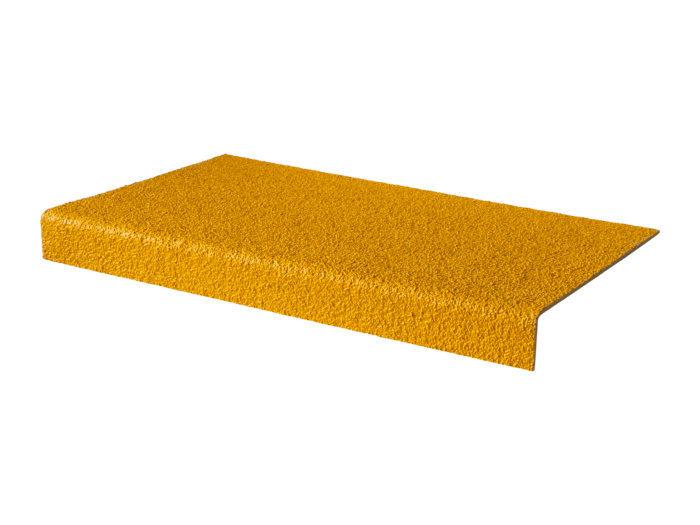 Yellow GRP Stair Tread