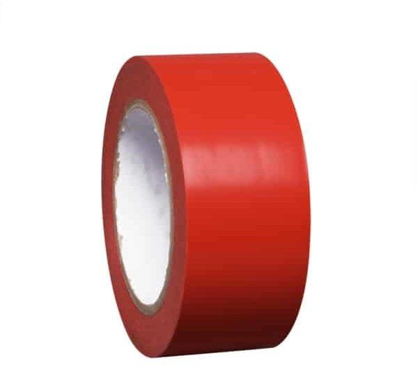 PROline Line Marking Tape 50mm Wide x 33m Long - Red