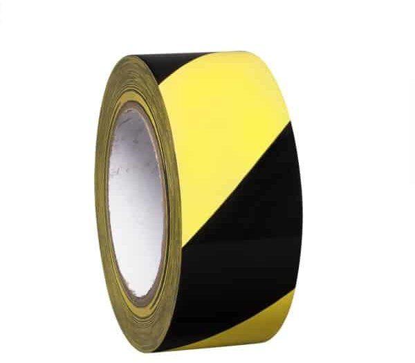 PROline Line Marking Tape 50mm Wide x 33m Long- Yellow/Black