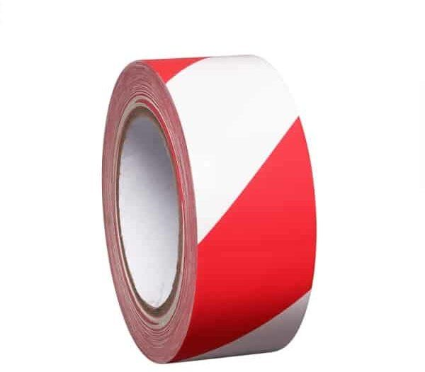 PROline Line Marking Tape 50mm Wide x 33m Long - Red/White