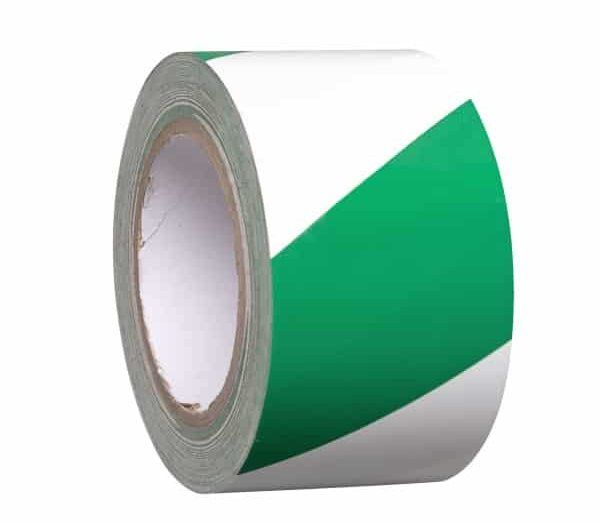 PROline Line Marking Tape 50mm Wide x 33m Long - Green/White