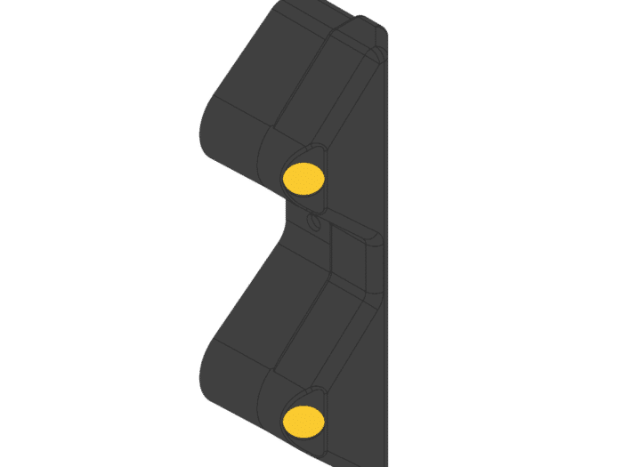 Black Armco Safety End