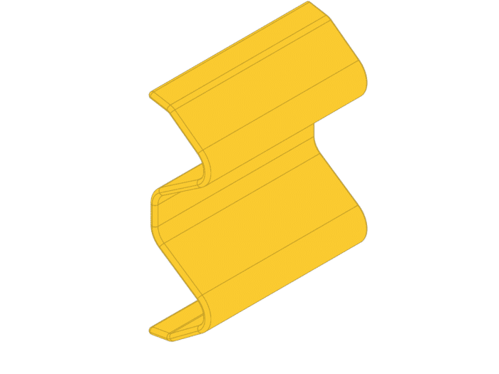 Yellow Armco End