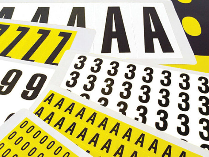 Self Adhesive Numbers & Letters Pack