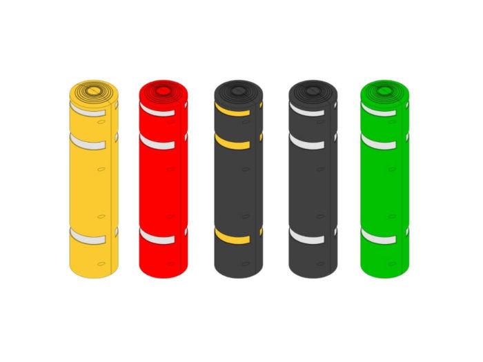 Range of Lamp Post Protectors