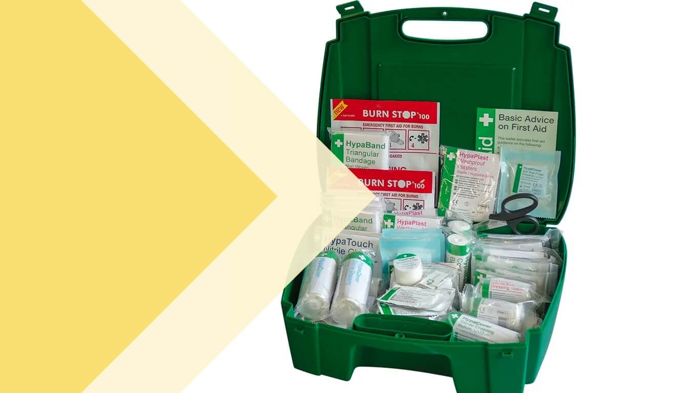 a complete first aid kit