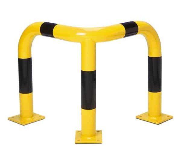 BlackBull Corner Protection Guards - Yellow/Black, 600mm