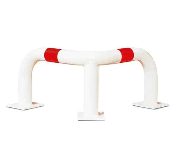 BlackBull Corner Protection Guards - Red/White, 350mm