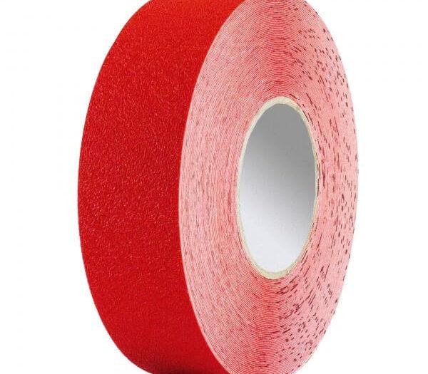 Pro-Line Vinyl Tape For Forklift Traffic - 50mm - Red