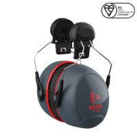 Sonis® 3 Helmet Mounted Ear Defenders 36dB SNR - Pack of 10