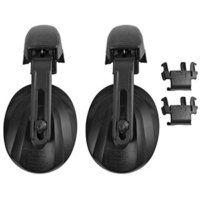 Contour Helmet Mounted Ear Defender Black