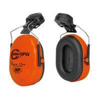 InterGPV Helmet Mounted Ear Defender Orange - Pack of 10
