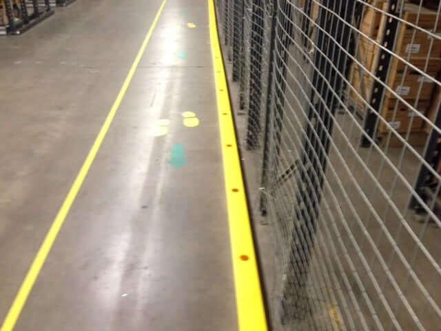 Rack Armour 1200mm Floor Rails