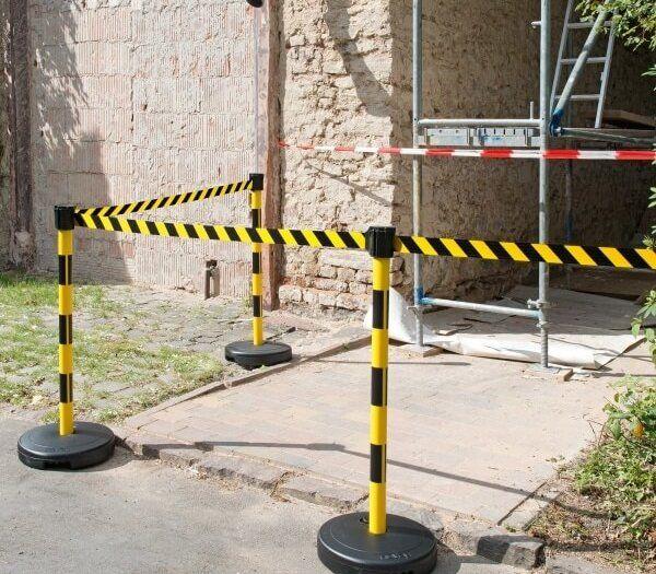 Economy Belt Barrier On Site