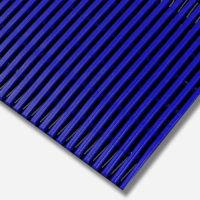 Interflex PVC Duckboard Anti-Slip Matting- Blue