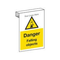 Falling Objects Scaffolding Sign