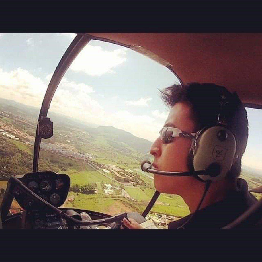 Atualmente, Pedro Uemura trabalha na Gol Linhas Aéreas, baseado em Fortaleza/CE (Foto: Arquivo pessoal)