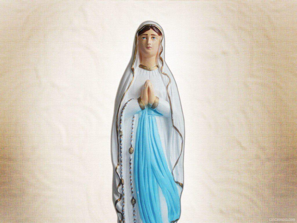 Nossa Senhora de Lourdes, Padroeira de Rafard (Foto: Reprodução/Internet)