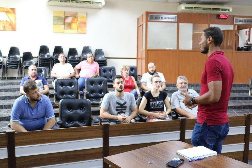 Empresários foram informados que transporte público começa atender o Distrito Industrial em março (Foto: Divulgação/Prefeitura de Rafard)