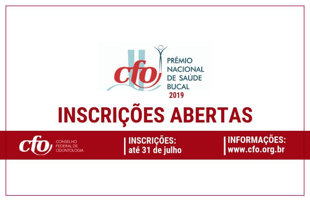 Municípios de São Paulo podem participar do Prêmio Nacional CFO de Saúde Bucal