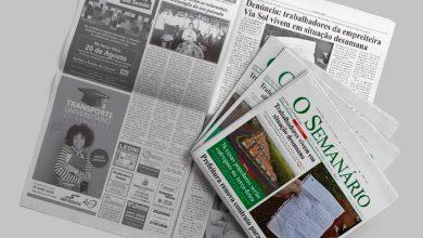 capa edição 1418 jornal o semanário