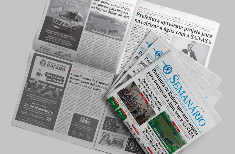 capa edição 1432 do jornal o semanário