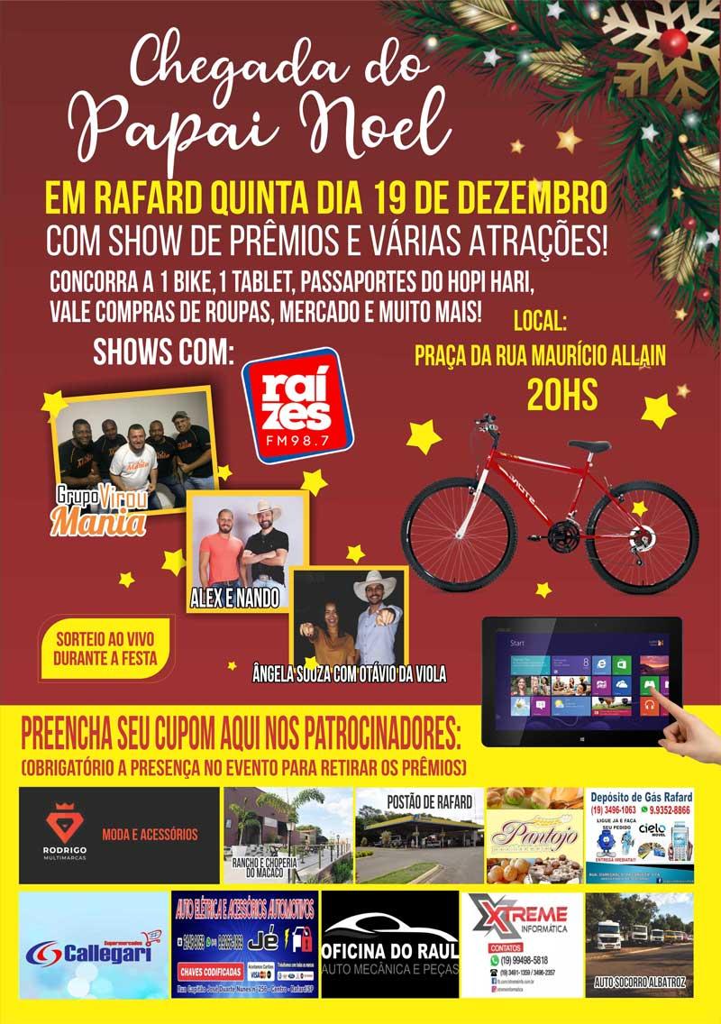 chegada-do-papai-noel-em-rafard-2019-show-de-premios-raízes-fm-30-anos