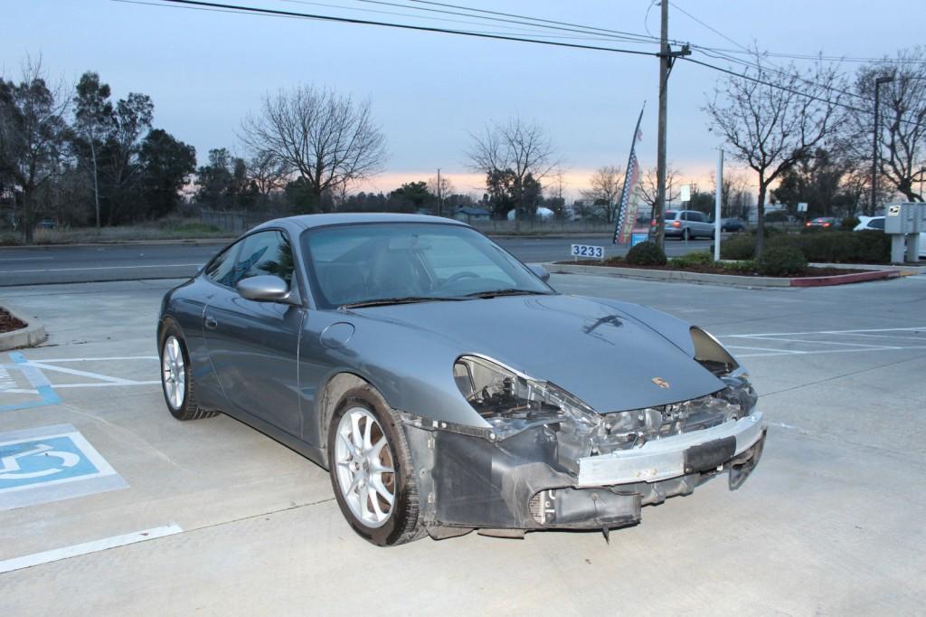 2003 Porsche 911 Damaged Wrecked