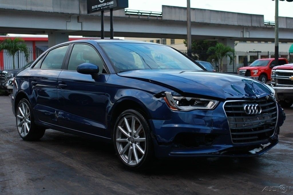 loaded 2015 Audi A3 1.8T Premium Repairable