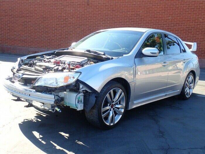well equipped 2014 Subaru Impreza WRX STI repairable