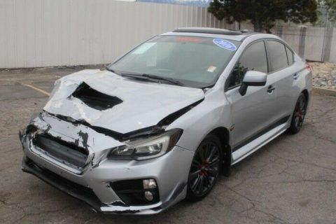 fast 2016 Subaru WRX Limited CVT AWD repairable for sale