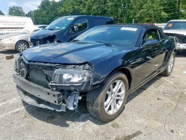 light damage 2014 Chevrolet Camaro LT repairable