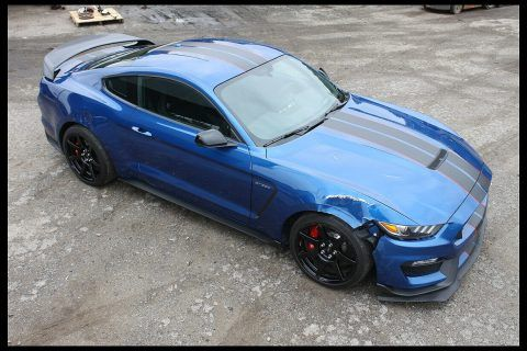 light damage 2017 Ford Mustang Shelby repairable for sale