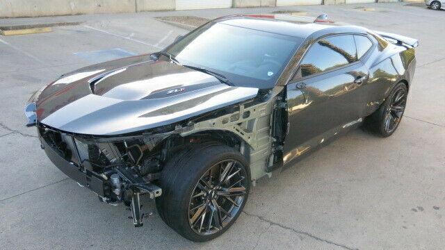 fully loaded 2017 Chevrolet Camaro ZL1 repairable