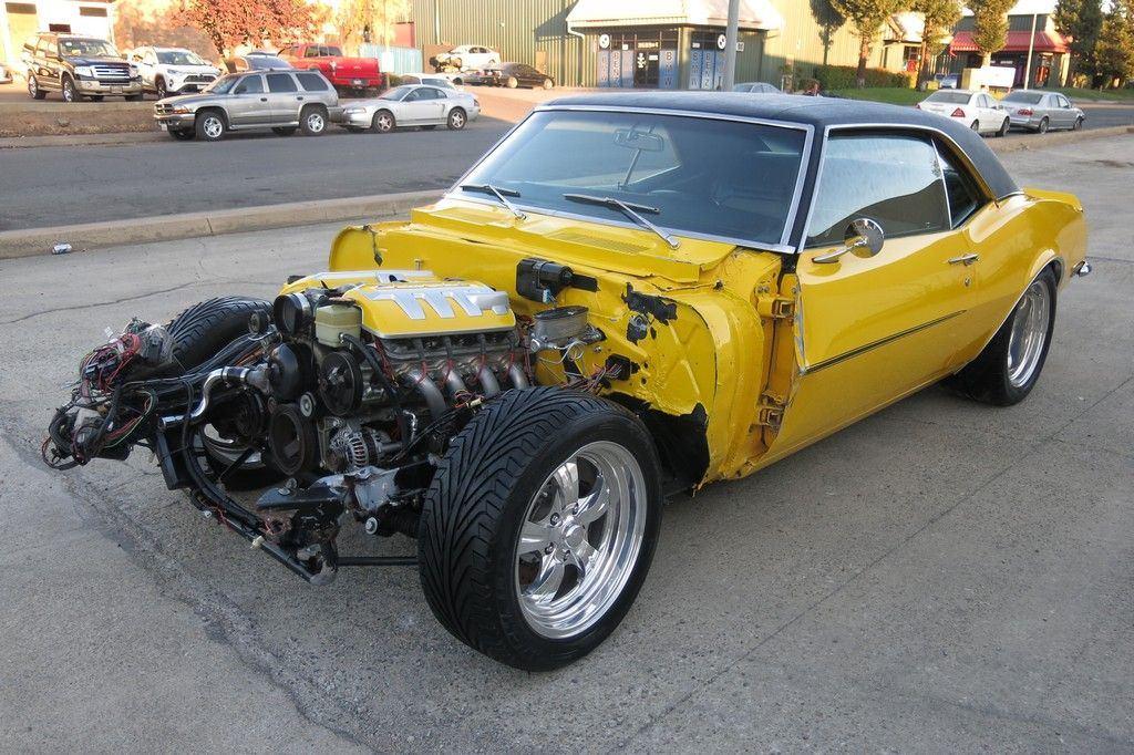 low mileage 1968 Chevrolet Camaro SS/LS1 repairable