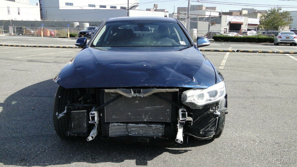 front damage 2015 BMW 4 Series 435i xDrive repairable