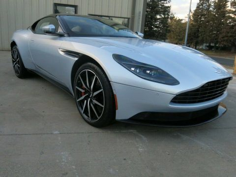 low miles 2020 Aston Martin DB11 Twin Turbocharged 4.0 Liter V 8/503hp repairable for sale