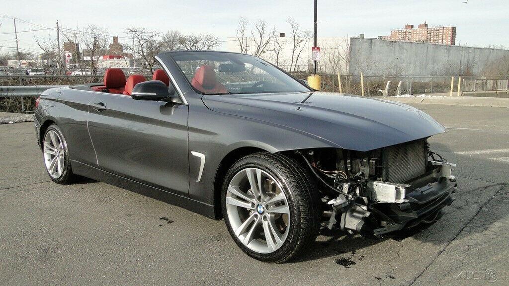 decent mileage 2015 BMW 4 Series 428i 2.0L I4 Turbocharger repirable