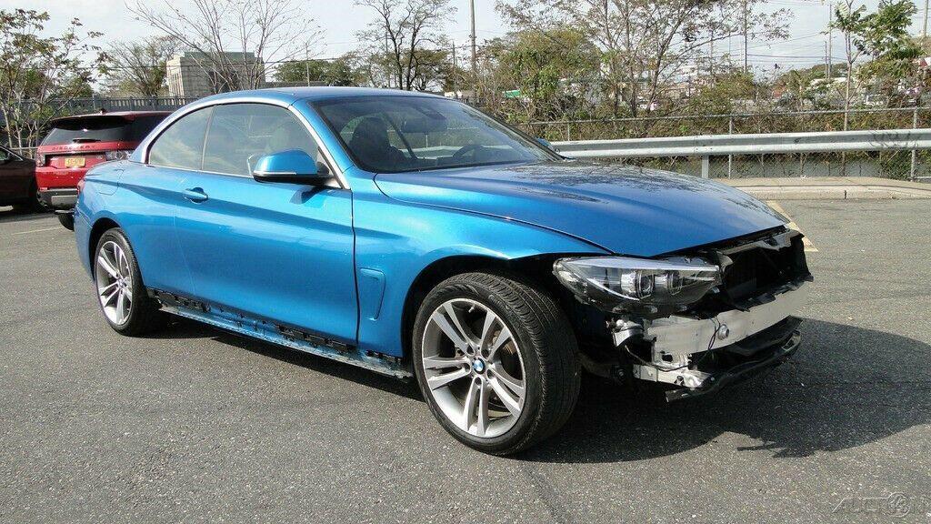 low miles 2019 BMW 4 Series 430i xDrive repairable