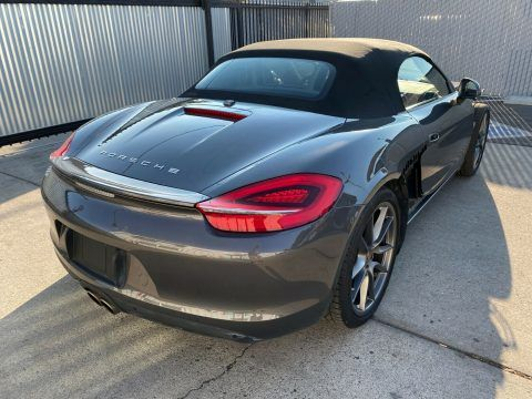 Loaded 2013 Porsche Boxster S Convertible PDK Automatic 3.4L 315hp repairable for sale