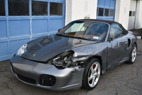 2004 Porsche 911 Turbo repairable [very well equipped] for sale