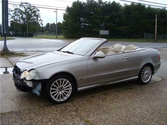 2006 Mercedes Benz CLK500 V8 Convertible repairable [easy fix]