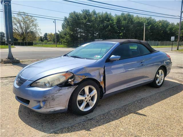 2006 Toyota Camry Solara Convertible SLE V6 repairable [easy front hit]